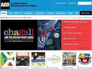 安大略省美术馆网站