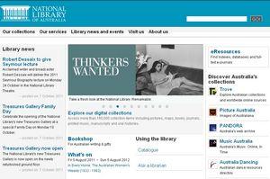 澳大利亞國家圖書館