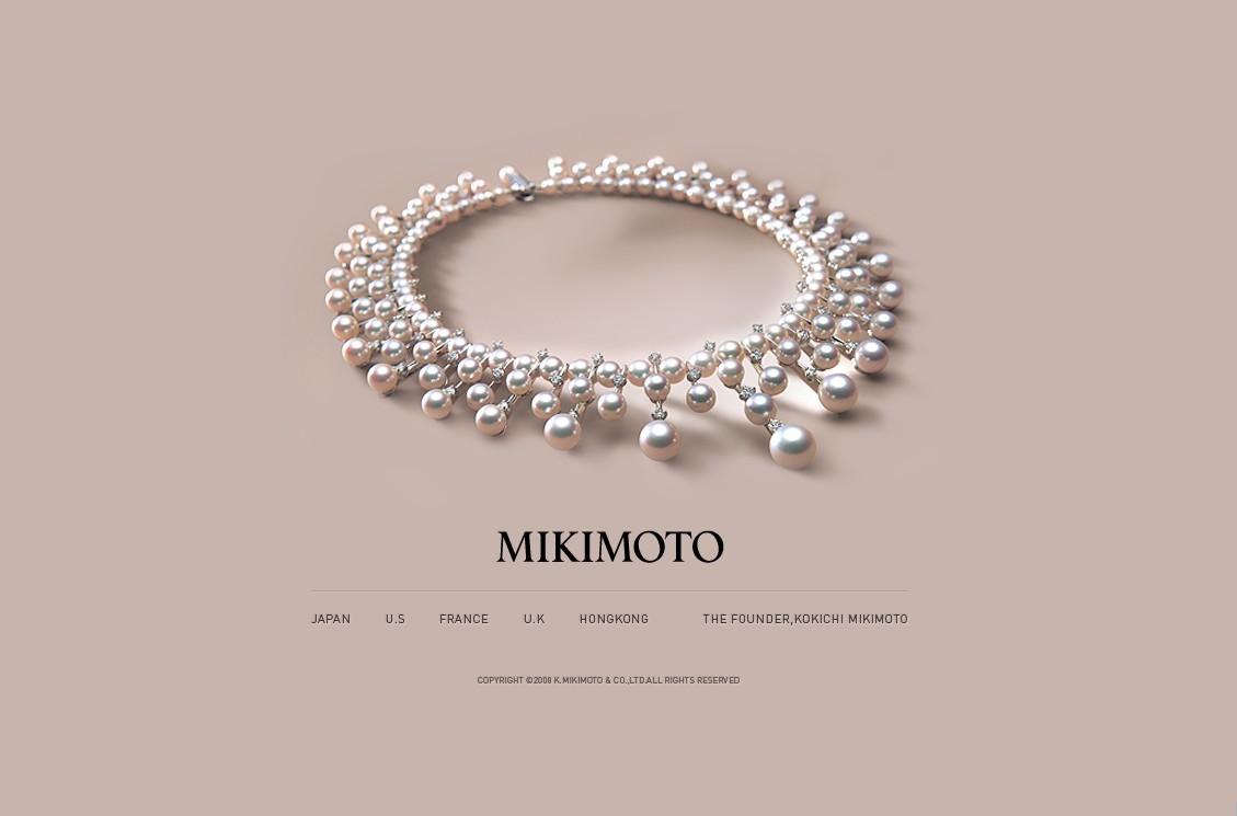 最划算活动,买御本木珍珠饰品。Mikimoto珍珠,也是传家宝。