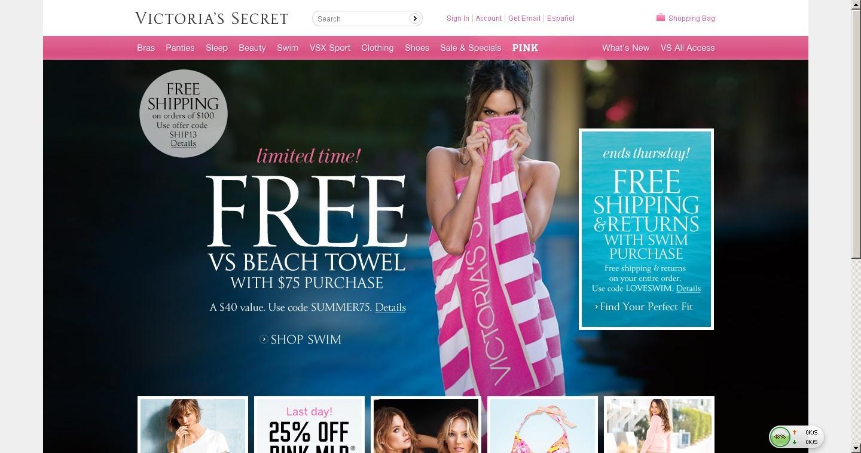 美国Victoria's Secret官网