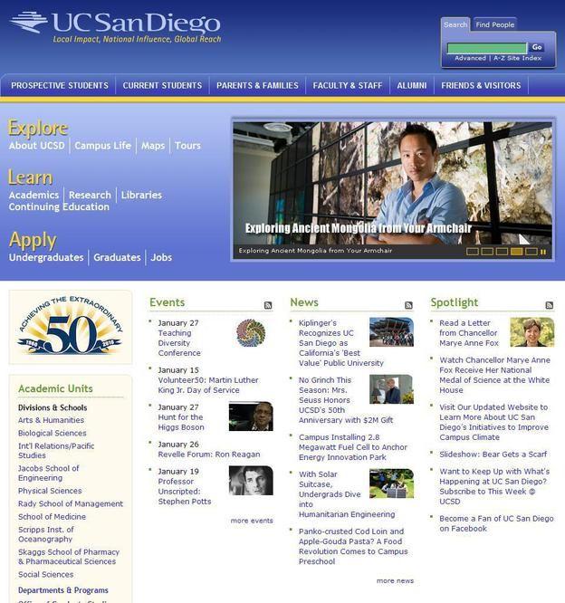 美國加利福尼亞大學圣地亞哥分校UC San Diego