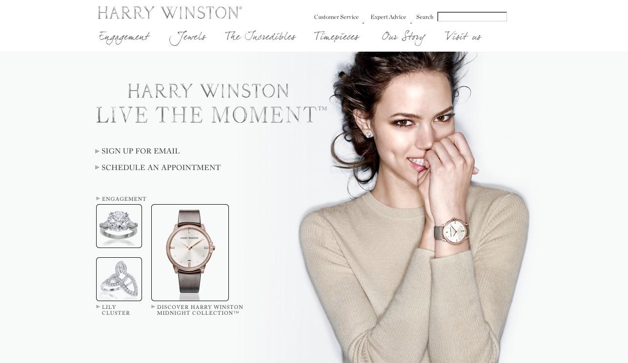美国Harry Winston珠宝官网