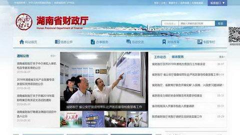 湖南省财政厅会计处网站