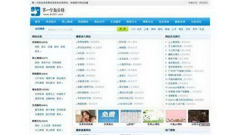网站分类目录