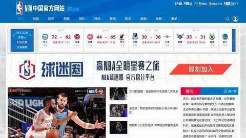 nba中國官網
