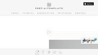 Prêt-à-Template APP官網