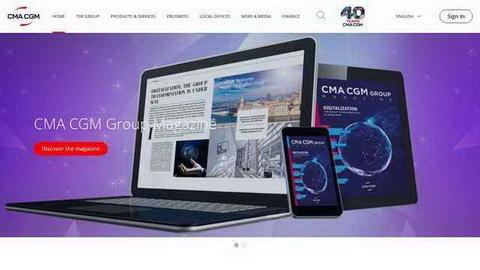 cma船公司網站
