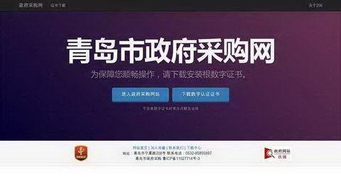青島政府采購網官網