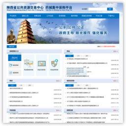 陕西省药械集中采购网